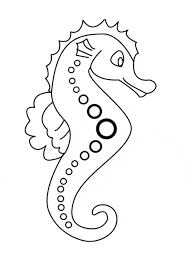 Seahorse Coloring Page Animals Town Animal Color Sheets Seahorse