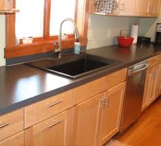 old kitchen counter and sink