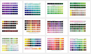 Download 71,270 color palette free vectors. Free Printable Pantone Color Charts Word Pdf