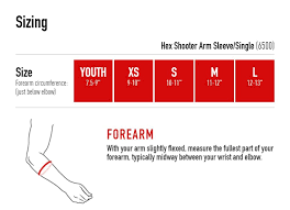 Mcdavid Compression Arm Sleeve Sizing Chart Mc David