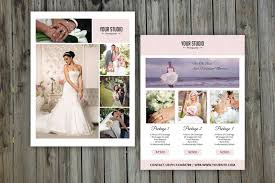 bridal shoot flyers modern photography price list template deals infoparrot