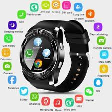 <b>V8 Bluetooth</b> Smart Watch Ip67 <b>Touch Screen</b> Android Waterproof ...