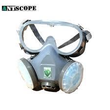 spray paint respirator mask gas pesticides protector half filter face 3m disposable