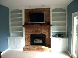 tv cabinet with fireplace fireplace surround brings newfound