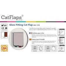 catmate 210 glass fitting 4 way locking cat flap