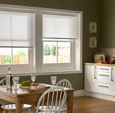 Roller Blinds For Kitchens Mariella Snowdrop White Kitchen Roller Blinds Bling Bling For
