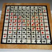 Wooden Sequence Board Game How to Make a Sequence Board Game Crafty Stuff Pinterest 19
