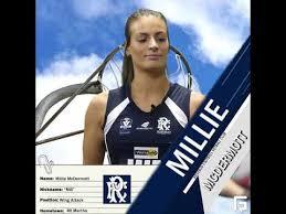 Rosebud NB Millie McDermott Player Profile - YouTube