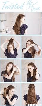 Twisted Princess Hairstyle Hair ไอเดยทรงผม ทรงผม และ
