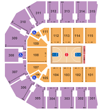 John Paul Jones Arena Seating Chart Charlottesville