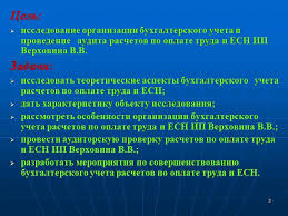 Презентация Бухгалтерский учет расчетов по оплате труда и ЕСН