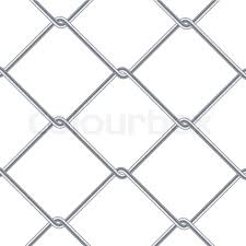 chain link fence wallpaper. Chain Link Fence Background. Industrial Style Wallpaper. Realistic Geometric Texture. Steel Wire Wall Isolated On White. Vector Illustration   Stock Wallpaper