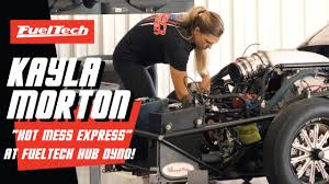 """Kayla """"The Queen"""" Morton at FuelTech Hub Dyno! - YouTube"""