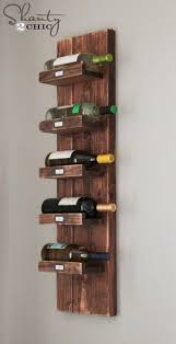 Make Your Own Wine Rack Plans Amazing Diy Wine Rack Shanty 2 Chic  Throughout How To