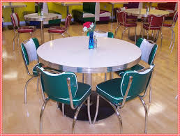 Old Fashioned Kitchen Tables Formidable Retro Kitchen Table And Chairs Intended For Retro