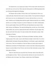 filipino culture essay similar essays