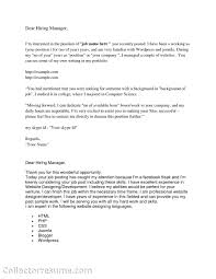 Cover Letter Sample Basic Date Contact Or Department Company Name