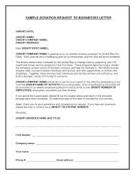 Business Letter Solicitation Template Professional Resume Cv Maker