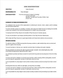 Sample Assistant Manager Job Description 9 Examples In Pdf Word