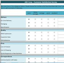 Customer Satisfaction Survey Template Excel 9 Best Photos Of Auto Service Customer Service Suggestion