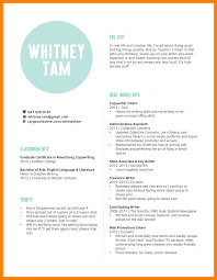 Copywriter ResumeWhitneyTamCreativeResumeAugust4040png Impressive Copywriter Resume