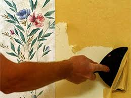 Easy Wallpaper Removal Options Source  DIY How To Remove Wallpaper Nest of  Bliss