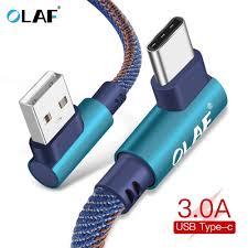 Kopen Goedkoop <b>OLAF</b> 3A USB <b>Type C</b> 90 Graden Kabel Voor ...