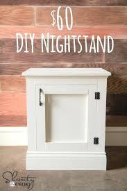 easy diy nightstand nightstand or bedside table for easy build too love it 2 easy diy nightstand plans