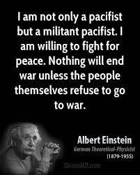 Image result for pacifism quotes