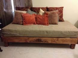 Best 25+ Rustic bed frames ideas on Pinterest | Diy bed frame, King size bed  frame and Pallet furniture bed plans