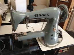 singer cylinder arm roller foot industrial leather sewing machine good condition singer 17 41