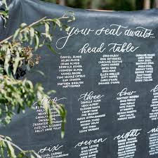 Blackboard Seating Chart These Creative Wedding Seating Chart Ideas Will Seriously