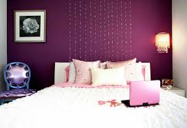 Purple Color Schemes For Bedrooms Purple Accent Wall Bedroom Bedroom White Curtain Purple Paint