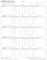 Images Of Workout Schedule Template Printable Weekly Via Free Log
