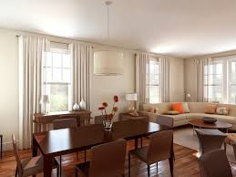 Living Room And Dining Room Furniture Living Dining Room Combo Decorating Ideas Monfaso