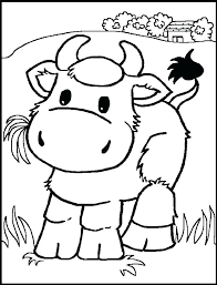 Animal Printable Coloring Pages Free Printable Farm Animal Colouring