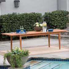 Belham Living Brighton Extension Outdoor Dining Table - Natural | Hayneedle