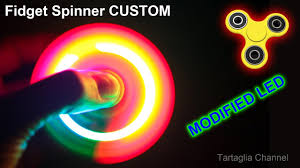 Crazy Fidget Spinner Designs Fidget Spinner Led Rgb Crazy Strobe Light Modified From The Original