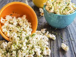 popcorn sprinkled with furikake a anese seasoning made of sesame