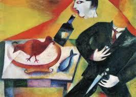 the drunkard 1912 marc chagall