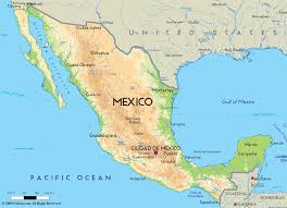download map of the mexico  major tourist attractions maps