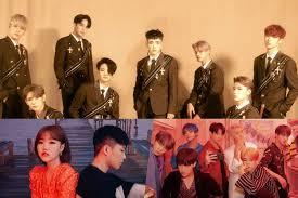 Ateez Akmu Bts And More Top Gaon Weekly Charts Soompi