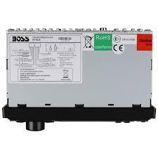 boss 612ua mechless am fm mp3 digital media car stereo receiver 50w x 4 Boss 612UA Wiring Harness Colors Boss Audio 612ua Wiring Diagram #15