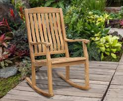 outdoor patio rocker teak garden rocking chair