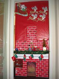christmas door decorations for office. Perfect Decorations Christmas Door Decorations Ideas Office  Simple Front Throughout For A