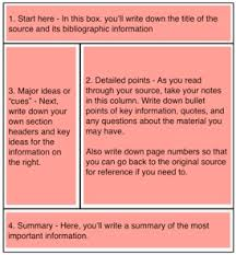 Best Images of Note taking Worksheet Conserving Resources