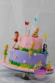 Bellas Fairy Cake Fairy Cakes Tinkerbell Birthday Cakes