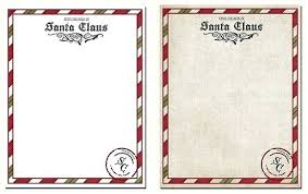 Letter From Template Word Sample Santa To Child Danielmelo Info