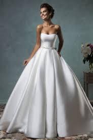 plenty of satin wedding dresses 2017 on sale best satin wedding