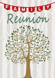 Family Reunion Poster Design Green Family Trees Backdrop For Party 5x7ft Soft Fabric No Wrinkle Trees Stripes Backgrounds Family Reunion Party Photo Video Studio Props Dsfs011